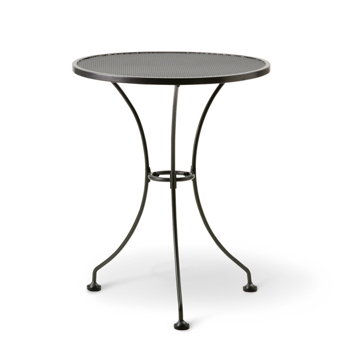 24″ ROUND MESH BISTRO TABLE T2501-0200