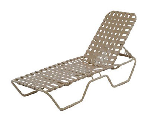 CROSS WEAVE STRAP CHAISE LOUNGE W0310CW $219.00