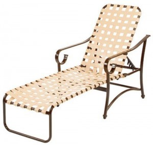 STRAP CHAISE LOUNGE W3310 $379.00