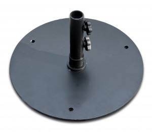 Steel Base 50lb –  Matte Black, White, Bronze, or Silver $109.00 Click Here to See Spec Sheet