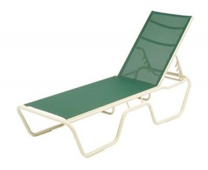 SLING STACKABLE CHAISE LOUNGE W1710SL B. $239.00  C. $249.00  D. $259.00  E. $269.00