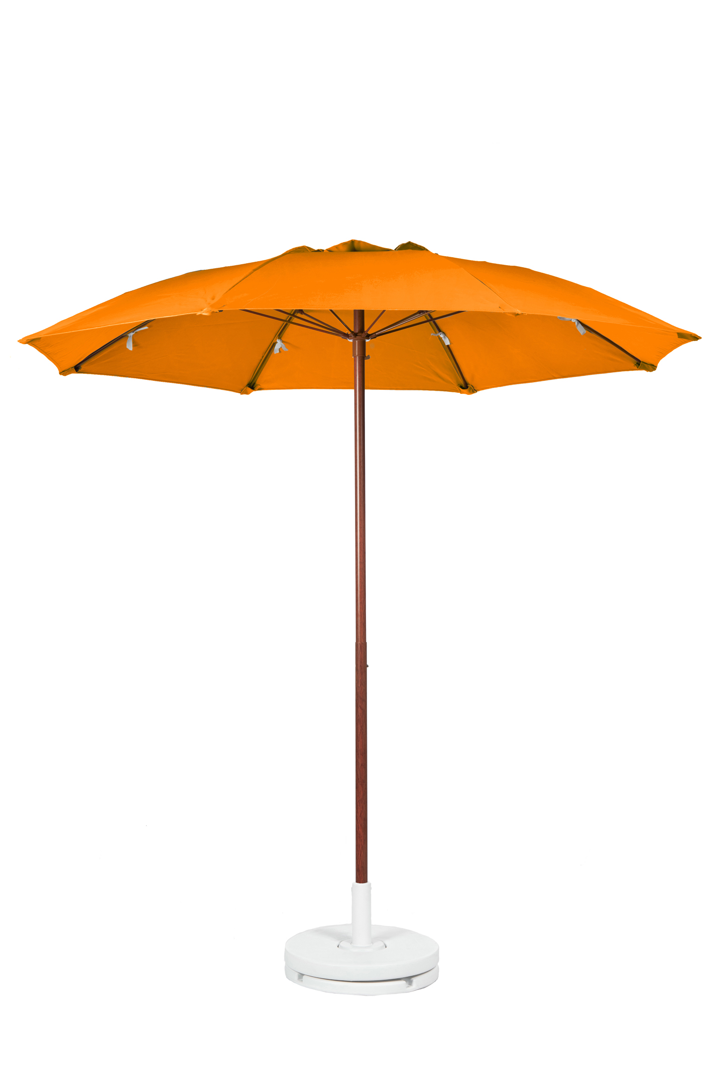 7.5′ PATIO UMBRELLA WITH FIBERGLASS SKELETON WITH VENT & NO VALANCE Stock Fabric:$219.00 Custom Fabric:$279.00 *Tilt Available For An Additional $10.00