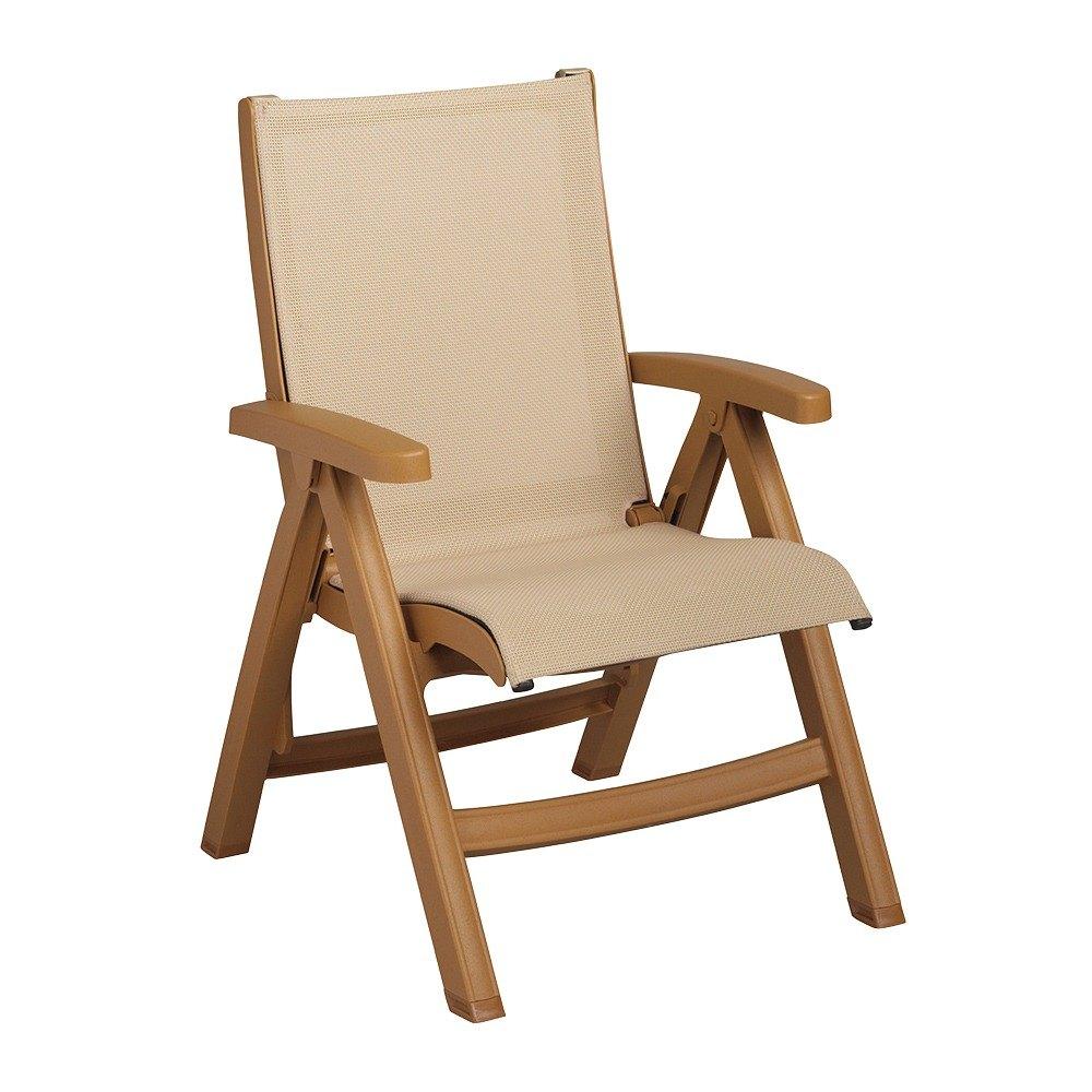 Grosfillex Outdoor Belieze Patio Chaise Resort Contract