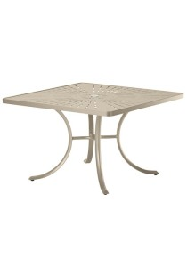 LA STRATTA 42″ SQUARE UMBRELLA TABLE