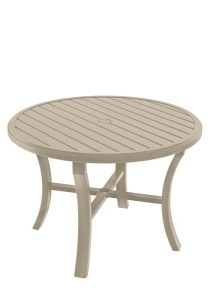 42″ ROUND BANCHETTO UMBRELLA TABLE 401142U