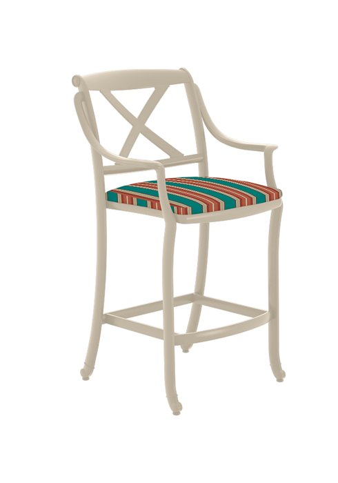 BELMAR BAR STOOL WITH SEAT PAD 31142605