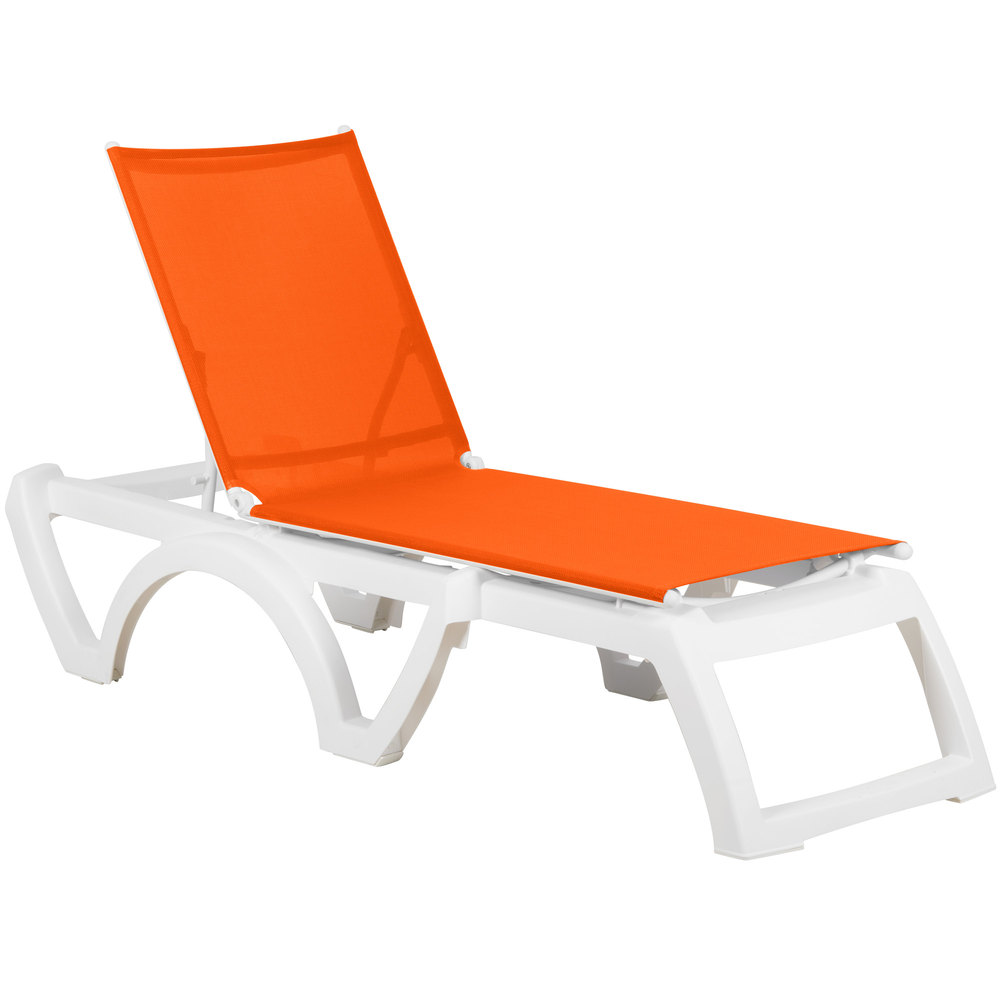 Grosfillex outdoor calypso patio chaise resort contract for Chaise kettler