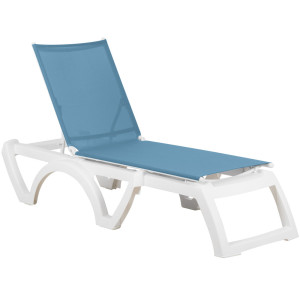 Grosfillex Calypso Chaise Lounge