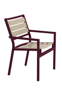 CABANA CLUB SLAT ARM CHAIR 591037MS