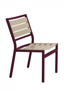CABANA CLUB SLAT SIDE CHAIR 591028MS