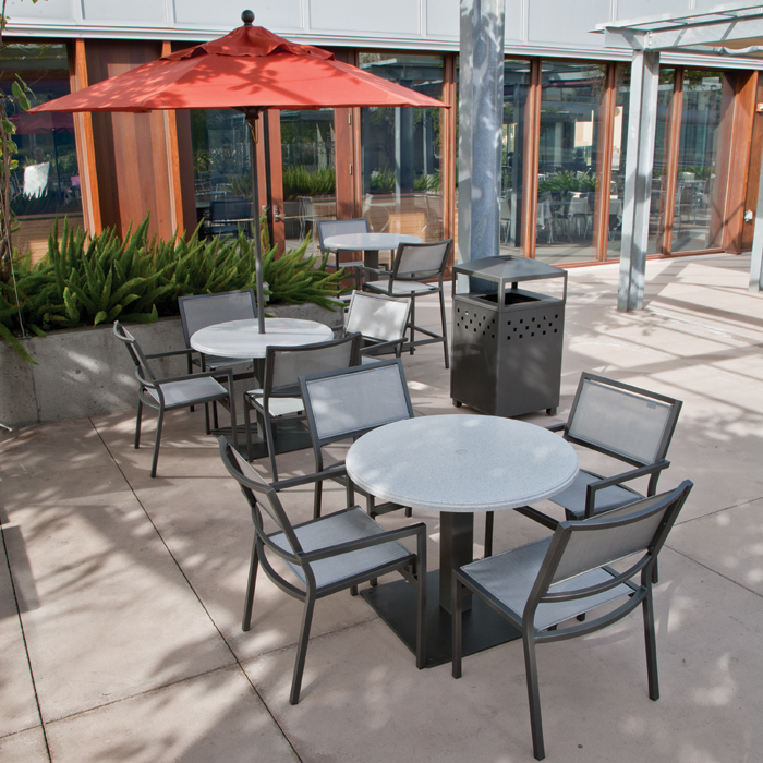 Cabana club aluminum commercial outdoor furniture at low for Commercial patio furniture