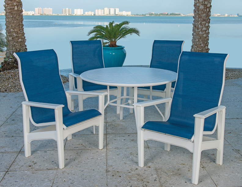 Marine Grade Polymer Commercial Outdoor Furniture At Low Prices - Commercial outdoor table and chairs