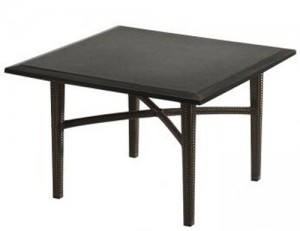 DINING TABLE WOVEN BASE 360958B