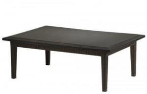 COFFEE TABLE WOVEN BASE 360953B