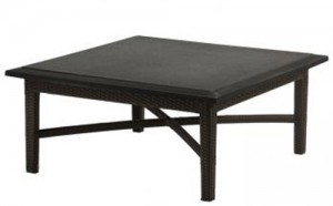 COFFEE TABLE WOVEN BASE 360940B