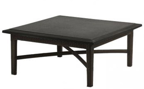COFFEE TABLE WOVEN BASE 360940B