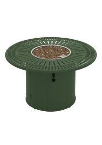 SPECTRUM 43″ ROUND FIRE PIT. SHOWN IN WOODLAND 801486FP