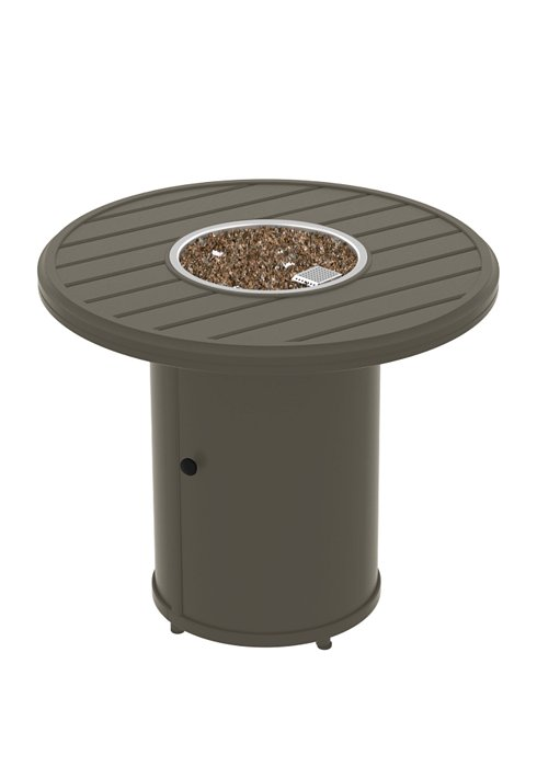BANCHETTO 30″ ROUND FIRE PIT.  SHOWN IN MOCHA 401641FP
