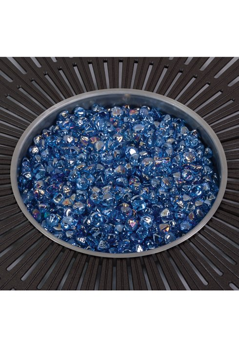 FIRE PEBBLES BLUE SKY, 1″ REFLECTIVE FIREPEBBLES