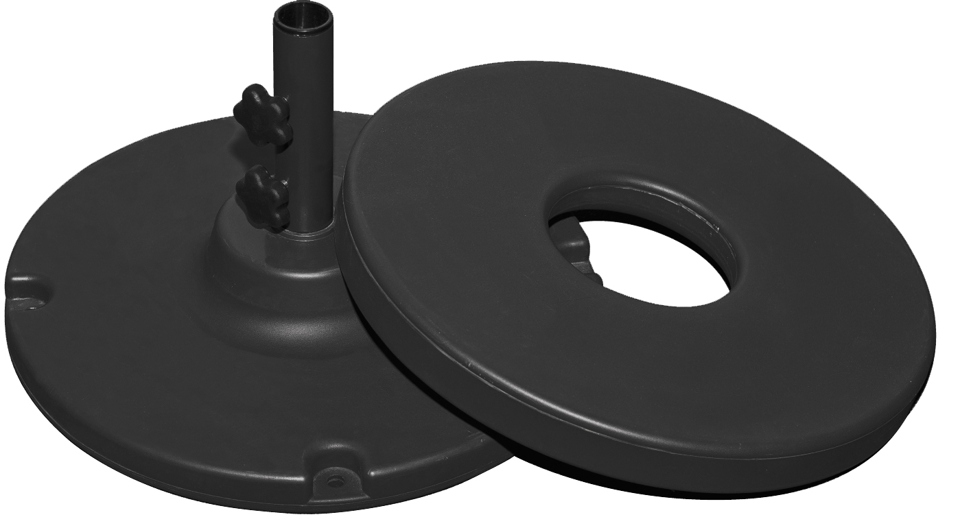 Concrete Filled Base 70lb – Black, Silver, White, Or Bronze $99.00  Click Here to See Spec Sheet