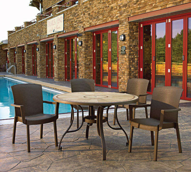 Grosfillex Commercial Outdoor Havana Chairs Resort Contract Gorgeous Outdoor Commercial Furniture Exterior