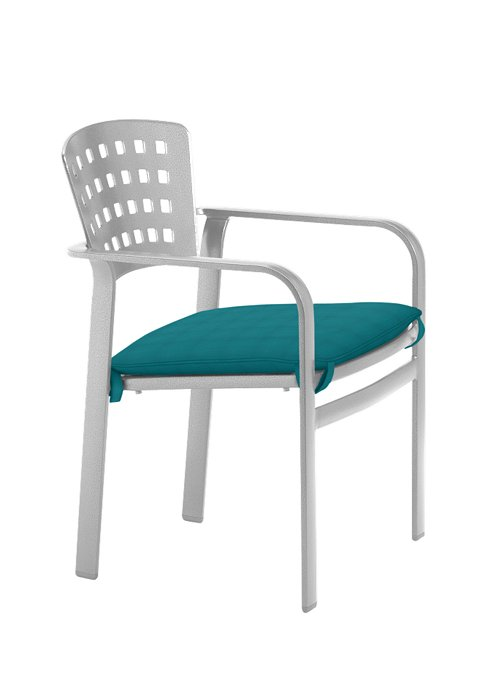 IMPRESSIONS ARM CHAIR WITH SEAT PAD 26042405