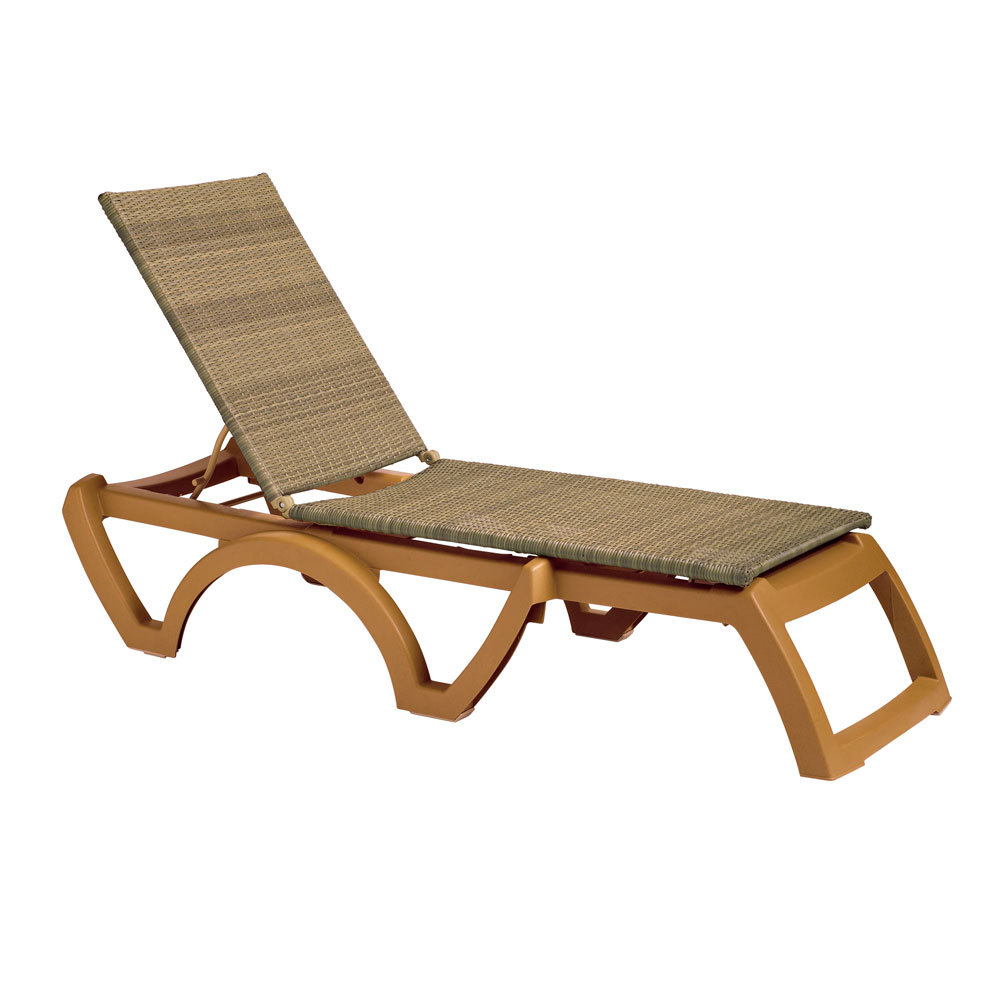 Grosfillex outdoor java patio chaise resort contract - Chaises longues grosfillex ...