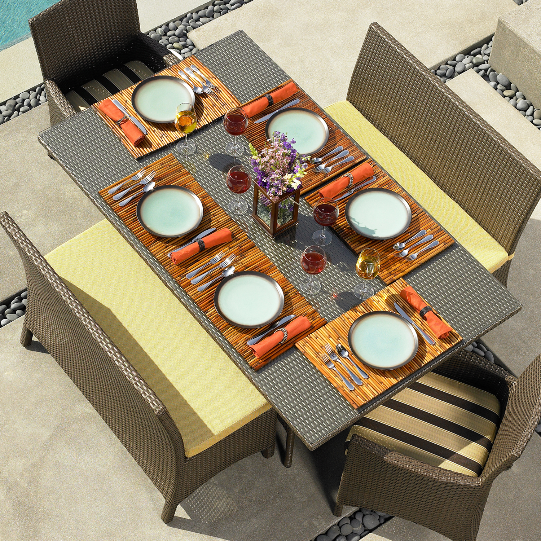 LAGUNA 72″ RECTANGULAR TABLE RC857 $570.00