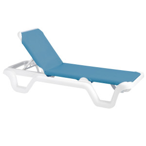 Grosfillex Marina Chaise Lounge