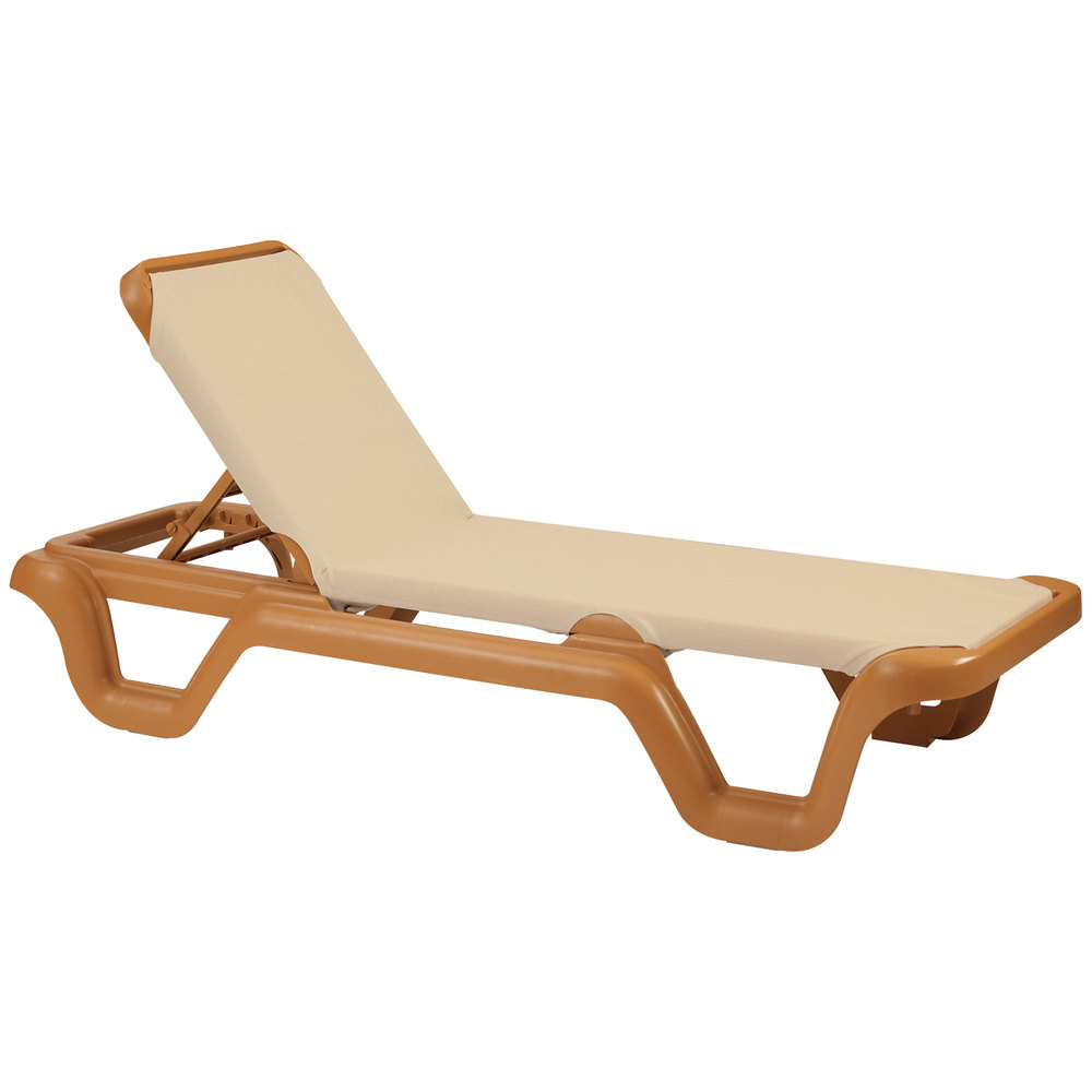 Grosfillex outdoor marina patio chaise resort contract for Chaise kettler