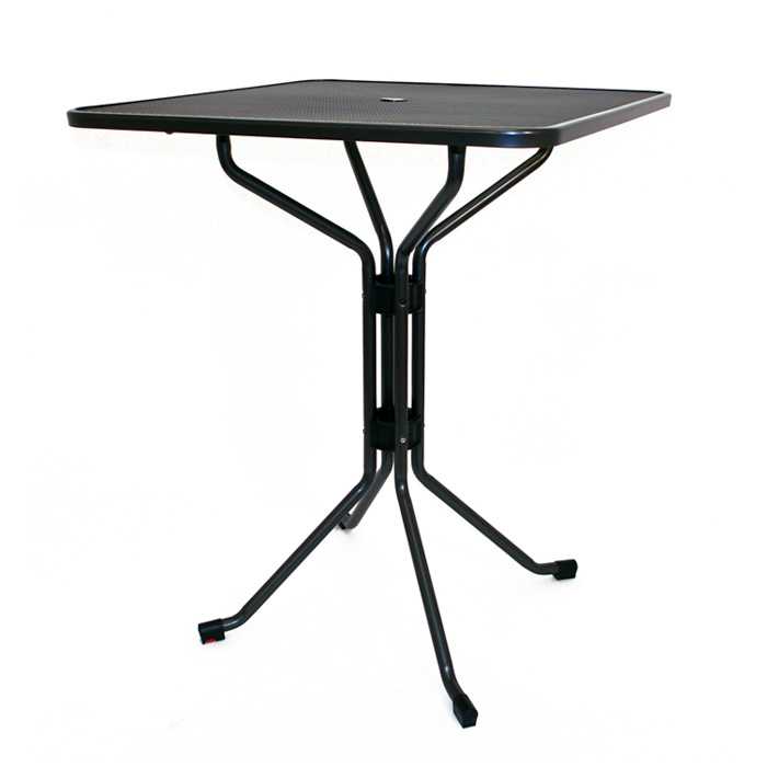 36″ SQUARE MESH BAR TABLE #T3136-0200S