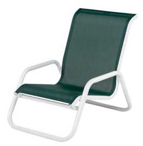 STACKABLE SLING SAND CHAIR W1740SLBT B. $119.00  C. $125.00  D. $129.00  E. $135.00