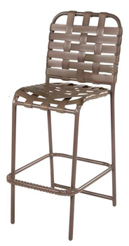 CROSS WEAVE STRAP BAR STOOL W1775CW $179.00