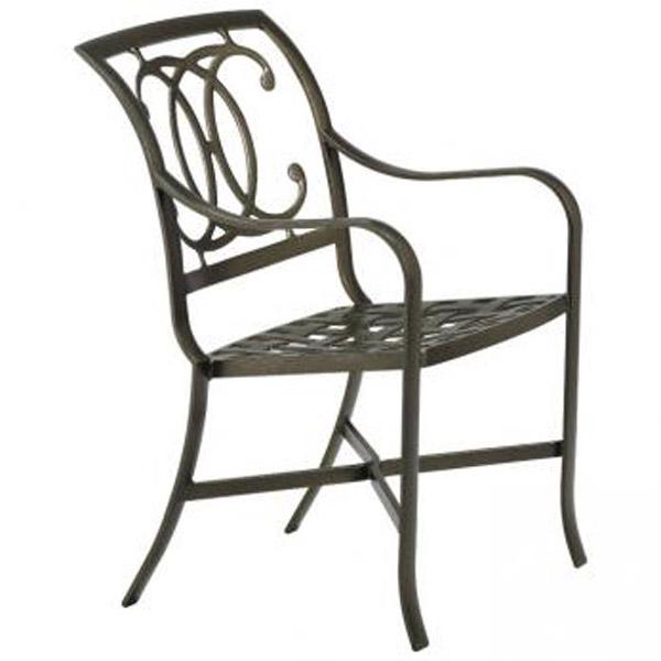 PALLADIAN DOUBLE C CAST SEAT ARM CHAIR 210024