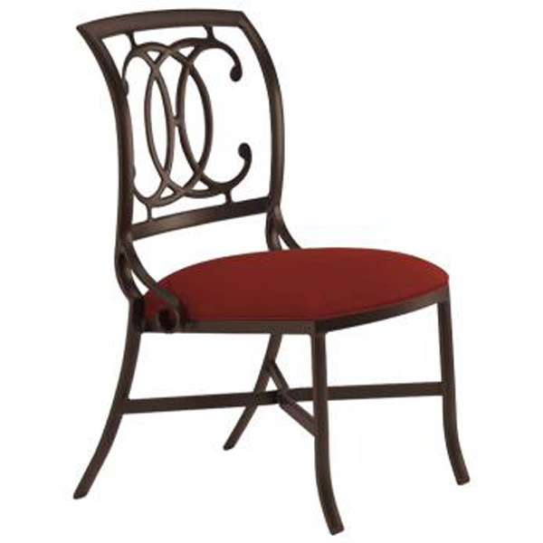 PALLADIAN DOUBLE C TIGHT SEAT SIDE CHAIR 22002809