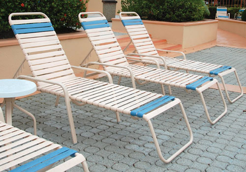 Regatta Strap Outdoor Dining Chair Amp Chaise Lounge