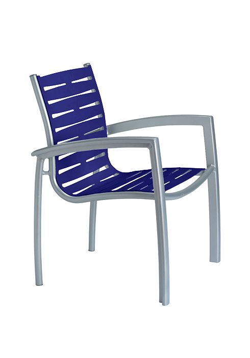 SOUTH BEACH EZ SPAN DINING CHAIR-RIBBON 230524RB