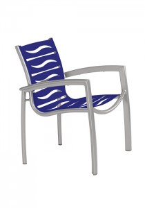 SOUTH BEACH EZ SPAN DINING CHAIR-WAVE 230524WV