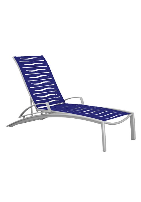 SOUTH BEACH EZ SPAN CHAISE WITH ARM-WAVE 231433WV