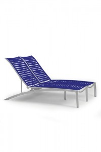 SOUTH BEACH EZ SPAN DOUBLE CHAISE-RIBBON 230575RB