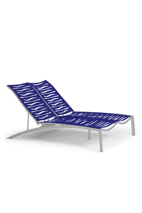 SOUTH BEACH EZ SPAN DOUBLE CHAISE-WAVE 230575WV