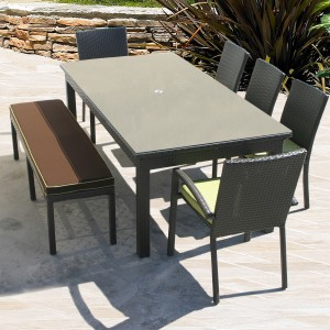 VENICE 84″ RECTANGULAR TABLE RC899 $690.00