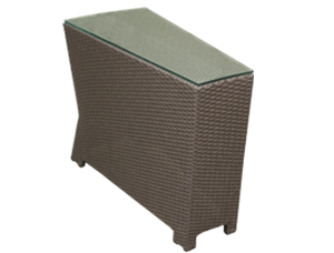VENICE WEDGE END TABLE RC908  $210.00
