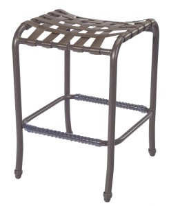 STRAP BACKLESS BAR STOOL W3377 $139.99