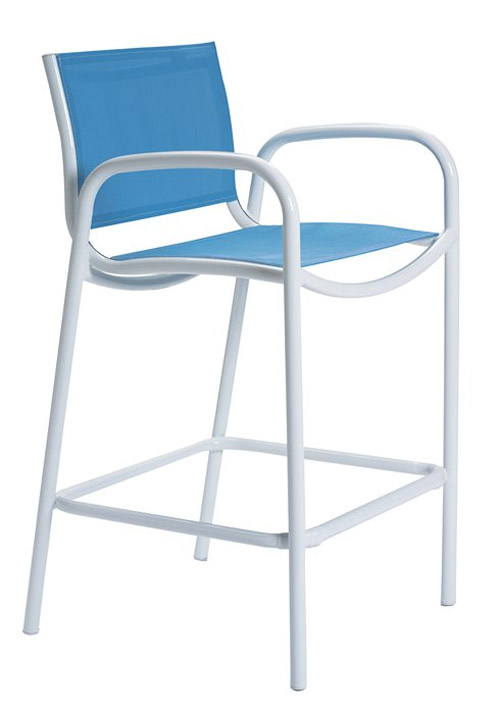 MILLENNIA RELAXED SLING BAR STOOL 220426