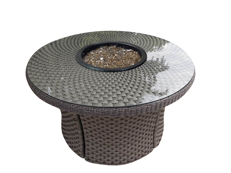 42″ROUND WOVEN FIRE PIT RC1500 STANDARD WEAVE $1050.00 PREMIUM WEAVE $1100.00