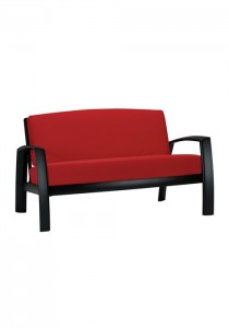 SOUTH BEACH CUSHION LOVE SEAT 251314