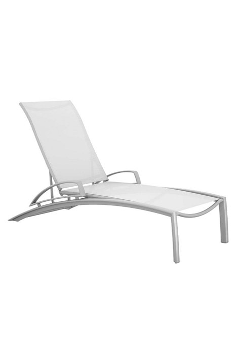 SOUTH BEACH SLING CHAISE WITH ARMS 241433