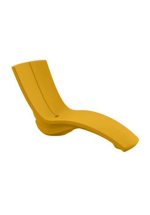 CURVE WITH RISER IN BRIGHT YELLOW 3A1533-08