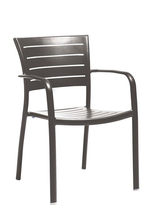 ESSO ARM CHAIR-CHARCOAL 2M1324